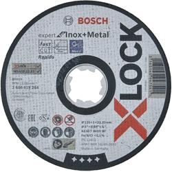 """תמונה של דיסק חיתוך Bosch X-Lock מומחה ל- Inox + Metal AS 60 T INOX BF Ø 125 מ""""מ"""