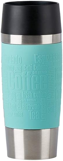 Picture of Emsa 513357 Thermal Travel Mug Standard Design Pack of 1 x 360 ml Color : MINT