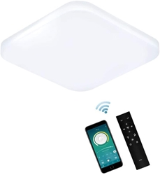 Изображение ERWEY LED Ceiling Light Dimmable with Remote Control ,  [Energy Class A++]