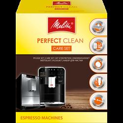 תמונה של ערכת טיפול נקי מושלם למכונות קפה אוטומטיות לחלוטין Melitta