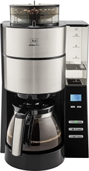 Picture of Melitta 1021-01 coffee machine AromaFresh black / stainless steel