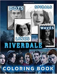 Picture of Riverdale Dots Lines Spirals Waves Coloring Book
