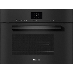 Изображение Miele built-in Steam oven with microwave DGM 7640 obsidian black