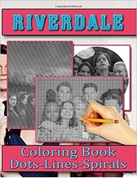 Picture of Riverdale Dots Lines Spirals Coloring Book: Adult Color Puzzle Activity Books Relaxing Activity Pages