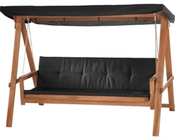 Picture of Hollywood Swing 3-Seater Brown