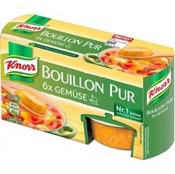 תמונה של ירקות טהורים של Knorr Bouillon 168 גרם