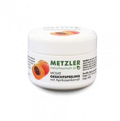 Picture of METZLER MOLKE--GESICHTSPEELING, FACE PEEL WITH APRICOT SEED OIL (50 ml)