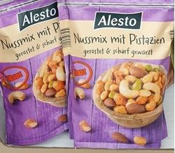 תמונה של תערובת אגוזים עם פיסטוקים Alesto  200gr