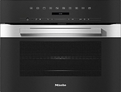 Picture of Miele H 7240 BM Built-in oven with microwave function, stainless steel CleanSteel