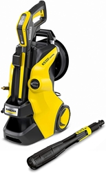 Picture of Kärcher  high-pressure cleaner K 5 Premium Smart Control (yellow / black, bluetooth, with hose reel)