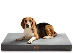 """תמונה של מיטת כרית כלבים גדולה אורתופדית עם קצף זיכרון בעיצוב ארגונומי, מיטת כלב ללא החלקה רחיץ, גודל: 104x74x10 ס""""מ XL"""