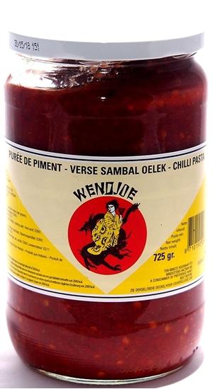 Picture of  WENDJOE Sambal Oelek / SCHARF / Chili Paste / Chilli Paste, 725g