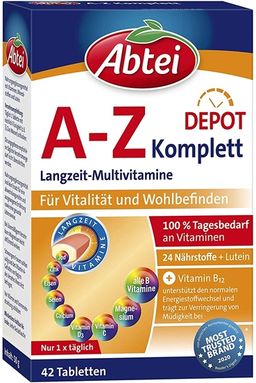 Picture of Abbey A-Z Complete Depot Complete Long-term Multivitamins