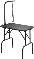 Picture of Yaheetech Dog Grooming Table, Trimming Table for Dogs, Dog Grooming Table, Dog Bath Table, Poodle Grooming Table, Height Adjustable, Non-Slip, Maximum Load 100 kg