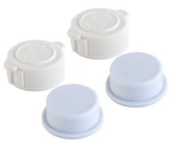 Picture of Intex valve closure set 2x lids 10043 + 2x plugs 10044