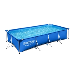 Picture of Bestway Steel Pro Frame pool set, incl. Filter pump, 400x211x81 cm, blue