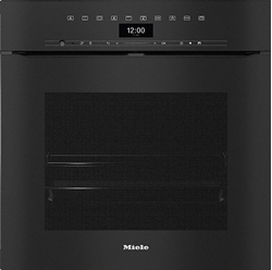 Изображение Miele Built-in oven H 7464 BPX Black, Handleless oven in a perfectly combinable design with food thermometer and LED lighting.