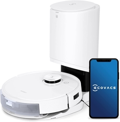 Изображение ECOVACS DEEBOT T9+ Robot vacuum cleaner with wiping function and suction station