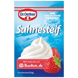 Picture of Dr.Oetker cream stabilizer 5 pieces