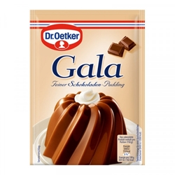 Picture of Dr. Oetker Gala Fine Chocolate Pudding for 3 x 500 ml