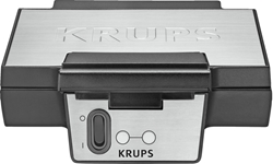 Picture of Krups FDK251 waffle maker black stainless steel