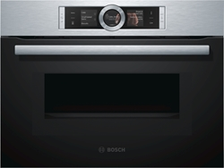 Picture of Bosch CMG636BS1, series | 8, built-in compact oven with microwave function, 60 x 45 cm, stainless steel