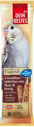 Picture of Exquisit, snack for birds, nibble sticks with nuts and moulting function, 70 g