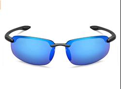 תמונה של משקפי שמש ספורט גברים נשים ללא שוליים Tr90 לריצת דיג בייסבול נהיגה MAXJULI MJ8001