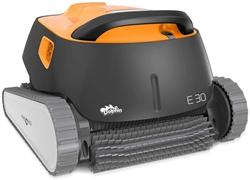 תמונה של רובוט ניקוי בריכות אוטומטי שואב אבק שימושי, קל משקל וקל לניקוי. אידיאלי לבריכות שקועות וקרקעיות