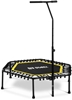 Picture of Gymrex fitness trampoline with yellow pole