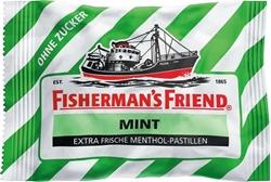 תמונה של טבליות מנטה ללא סוכר , 25 גרם FISHERMAN'S FRIEND