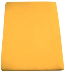 Изображение Formesse Bella Donna Jersey Fitted Sheet Gold Yellow 90 x 190 - 100 x 220