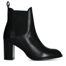 Picture of BLACK ANKLE BOOTS WITH HEELS