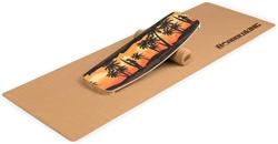 Изображение BoarderKING Indoorboard Limited Edition Вейкборд Скейтборд Доска для серфинга Балансировочная доска Trickboard