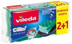 Изображение Vileda Pot cleaner Glitzi Pur Active, 3 pcs