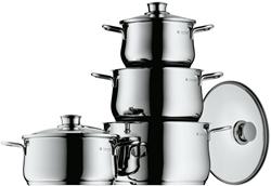 Picture of WMF Diadem Plus 4-Piece Saucepan Set