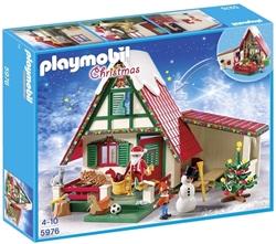 תמונה של בבית עם סנטה Playmobil Christmas